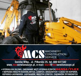 Promocja w MCS Warsztat naprawy Maszyn