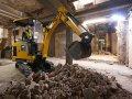 Elektryczność wkracza w świat maszyn budowlanych